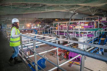 """Photographie de reportage industriel <a href=""""http://delicatessenstudio.com/project/construction-centre-tri-romainville/"""">cliquez ici pour voir le reportage</a>"""