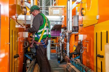 """Photographie de reportage industriel <a href=""""http://delicatessenstudio.com/construction-centre-tri-romainville/"""">cliquez ici pour voir le reportage</a>"""