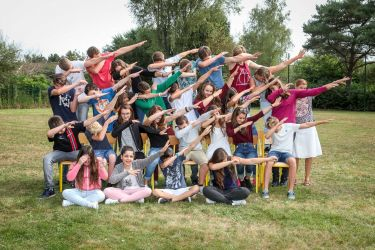 "Photographie scolaire ""fun"""