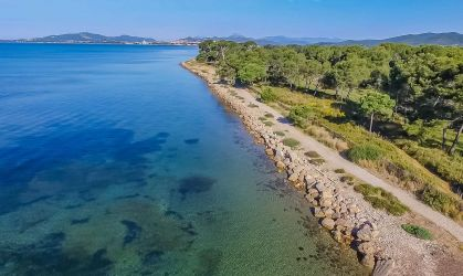 Photographie aérienne par drone de La Londes Les Maures,Côte d'Azur